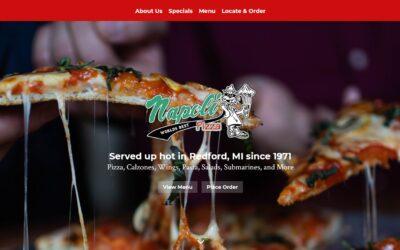 CLIENT SPOTLIGHT | A New Website for Napoli Pizza Inc